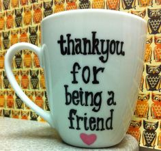 Golden Girls Coffee Mug  Thank you for being by GorgeousGlassware, $13.00