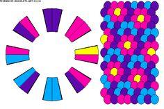 Kumihimo Pattern-16 threads-K4002 - friendship-bracelets.net