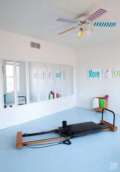 15 trendy home gym ideas workout rooms small spaces ballet barre