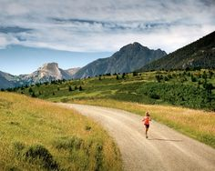 Livingston, MT If running at 5,600 feet doesn't take your breath away, the views in Mission Creek Canyon will.