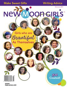 """5/20 only: help girls feel beauty: click link on our FB page, comment """"buy""""  & get @newmoongirls e-mag $1.49 - for any mobile device or computer"""