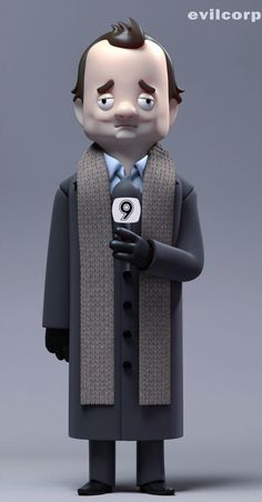 Phil Connors by @Kibooki