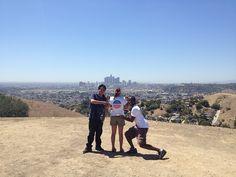 Brandon, Fernando, Amara-Emanuel Pleitez, candidate for L.A. Mayor www.pleitezforla.com