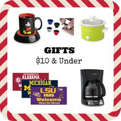 Awesome gifts $10 & under *Something for everyone* #ad