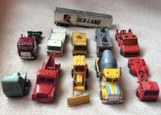 Job Lot Of 10 Constraction & Rescue Cars Matchbox / Lesney / Corgi - http://www.matchbox-lesney.com/35079