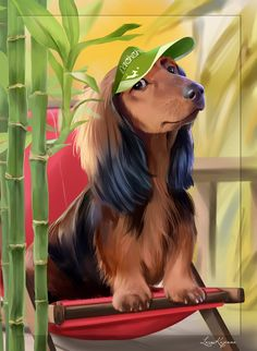 Dachshund Paint Shop Pro compatible PSD character separate from background 1700x2000x300ppi http://picsfordesign.com/en/catalogue/id_118706_dachshund.pix
