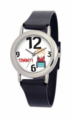 South Park Men's D1550SS414 Torino Collection Timmy Black Plastic Strap Watch South Park. $29.99. Quality and precise Japanese-quartz movement. South Park artwork. Water-resistant to 99 feet (30 M). Plastic watch strap with buckle. Durable mineral crystal. Save 25% Off!