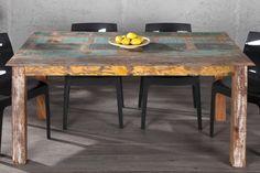 Eettafel Medan - 160 cm  Description: De eetkamertafel Medan is een stevige tafel en is gemaakt van gerecycled hout. De tafel heeft rechthoekige poten die onder de hoeken van de tafel geplaatst zijn. De eetkamertafel is behandeld waardoor de eigenschappen van het hout extra naar voren komen.  Price: 374.99  Meer informatie  #promowonen