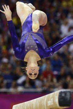 Great Artistic Gymnastics Shot