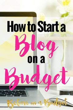 Blogging doesn't have to be expensive! Learn exactly how to start a blog. Don't overpay for things you don't need! Here is a list of the steps to take to start a blog. This list also includes how to find free stock photos. My blog made me over $13,000 last year - so the small investment to start a blog was so worth it!