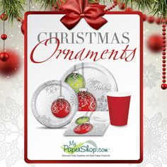 #Christmas Ornaments Party Supplies