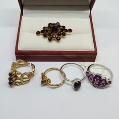 January birthstone, gift for her. January birthday drop by and see !