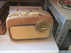 Gebruikt: oude radio (Radio's) - Te koop in Damme Sijsele