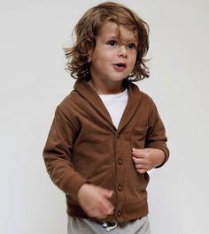 Gray Label Shawl Collar Cardigan love the little boys hair too! Boy Haircuts Long, Baby Boy Hairstyles, Toddler Boy Haircuts, Toddler Boy Long Hair, Little Boy Fashion, Baby Boy Fashion, Kids Fashion, Long Hair Cuts, Long Hair Styles