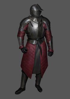 ArtStation - Basic Iron Armor, Jan-Wah Li