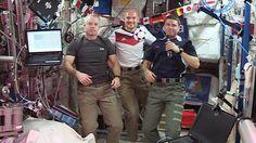 Los astronautas también disfrutan del fútbol, ¿o creías que no?