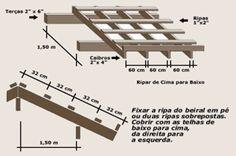 telhado 1 agua como fazer - Pesquisa Google