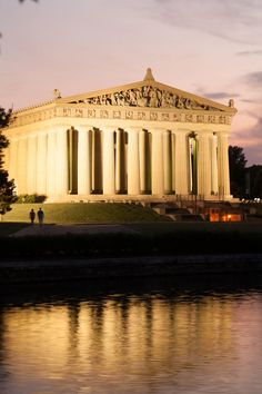 The centerpiece of Nashville's Centennial Park, this full-scale re-creation of the ancient Greek Parthenon was built in 1897 as part of the city's Centennial Exp