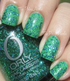 Orly Flash Glam FX Collection: Mermaid Tale (from The PolishAholic:)