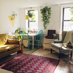 Welkin Blue Living Room