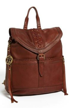Lucky Brand 'Carlyle' Leather Backpack | Nordstrom