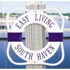 Life Ring Personalized Plaque