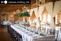 '#Repost @melrose_knitting_mill - What an amazing picture! We just had to share on this  beautiful Sunday. Honored to be a part of this special day. ・・・ So excited to share these images with everyone from yesterday's wedding! Southern Love Studios never fails to amaze me with these sneak-peaks. #cerental . . . . . #partyrentals #specialevents #eventprofs #design #tents #tabletop #china #eventrentals #weddings #weddingideas #eventdesign #eventdecor #eventplanning #eventpros #party #tables…