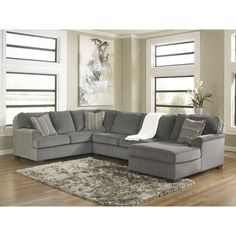 Ashley Loric 12700 3 pc Sectional