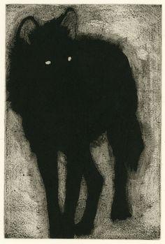 Laura Grossett. etching, mezzotint. 2016.
