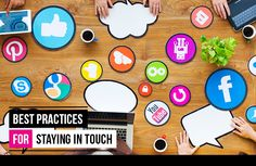 Best Practices for Staying in Touch Best Practice, Digital Marketing, Touch, Business, Lifestyle, Store, Business Illustration