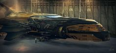 Personal Sci-Fi concept arts on Behance