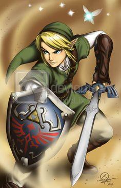 Legend of Zelda: Link by *TixieLix
