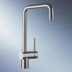Blanco Finess single lever mixer, projection 180 mm brushed stainless steel