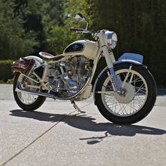 Junkyard rescue: Chappell Customs have taken a break from their usual cafe racer builds to restore a rusted out Royal Enfield 350. Ain't she lovely?