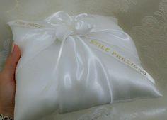 HANDMADE WEDDING RING PILLOW / CUSHION, RING BEARER / HOLDER, IVORY COLOR in Home & Garden, Wedding Supplies, Ring Pillows & Flower Baskets | eBay