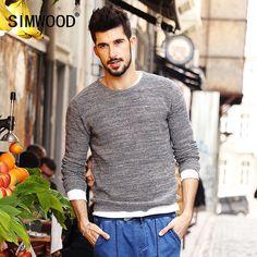 Winter Fashion Casual Sweater Men Pullovers Knitwear male