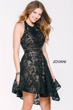 Enchanting and elegant in this  #jovani 33958 lace dress.