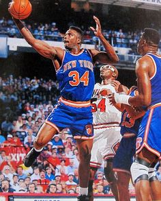 Charles Oakley 1992 Girls Basketball Shoes, Basketball Pictures, Sports Basketball, Basketball Players, College Basketball, New York Knicks, New York Giants, Basketball Game Tickets, Power Forward