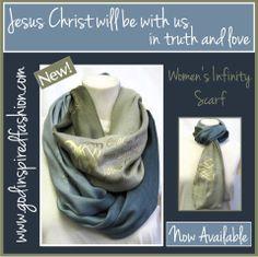 #New #InfinityScarf  http://shop.godinspiredfashion.com/product.sc?productId=256&categoryId=7 #Godinspiredfashion