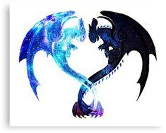 """Dragon Heart (Toothless and Light Fury)"" Photographic Prints by Unicornarama Httyd Dragons, Cute Dragons, Cute Disney Drawings, Cute Animal Drawings, Image Tatoo, Dragon Wallpaper Iphone, Night Fury Dragon, Dragon Heart, Wolf Spirit Animal"