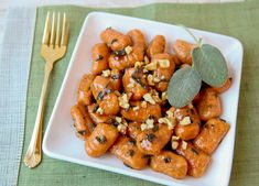 Sweet Potato Gnocchi with Sage Brown Butter Sauce | The Daily Dish