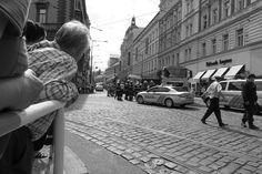 "Prague, Tram Accident at ""Na Poříčí"" str."