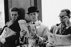1960: Publishing liberalised. | 31 Gorgeous Photos Of The London Underground In The '50s And '60s