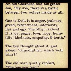 Wise words... So true!