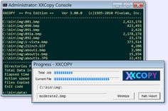 XXCOPY 3.21.6 What is XXCOPY ?  A versatile file management tool for Microsoft Windows®.  It is a command-line program (without graphical user interface).  Supports all Windows versions (except Windows CE).  It has more command switches (>230) than any other tool of its kind. #computers #computerrepair