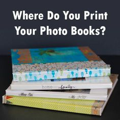 After printing the SAME photo book at 12 different places, where am I printing now?: