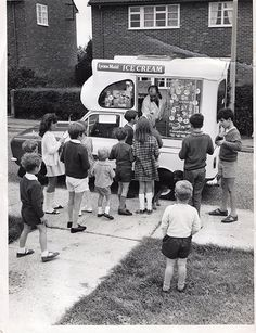 It's good to be happy... remember when the sound of an ice cream truck could send you into a conniption fit of euphoria?