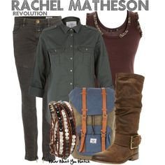 Inspired by Elizabeth Mitchell as Rachel Matheson on Revolution.