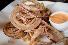 Onion Rings at Basta Trattoria