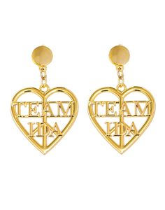 Team Ida Earrings by Ida Sjostedt Clip On Earrings, Night Out, Gold, Jewelry, Outfit, Outfits, Jewels, Schmuck, Jewerly
